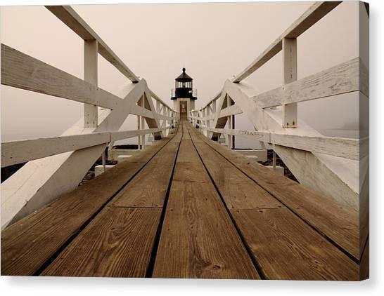 Marshall Point Fog Canvas Print