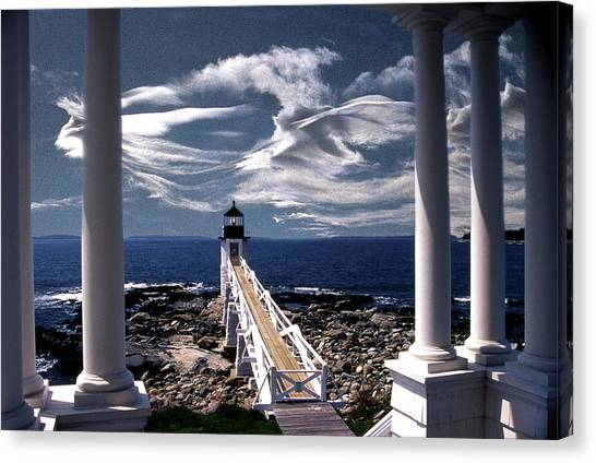 Marshall Point Lighthouse Maine Canvas Print