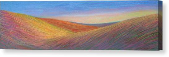Marshall Sunset Canvas Print by Lucinda  Hansen