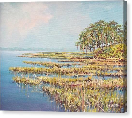 Marshland Canvas Print by Sinisa Saratlic