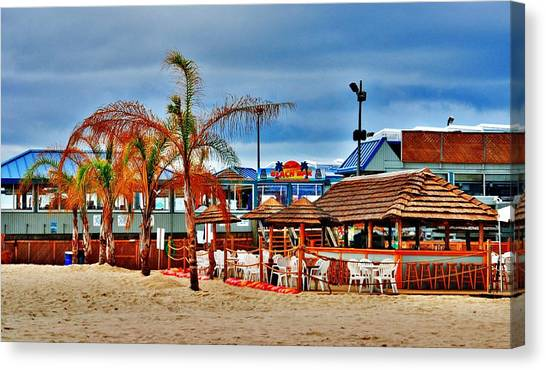 Martells On The Beach - Jersey Shore Canvas Print