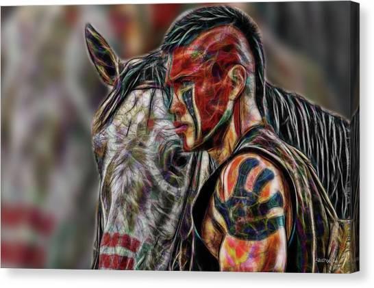 Martin Sensmeier - Digital Art Canvas Print