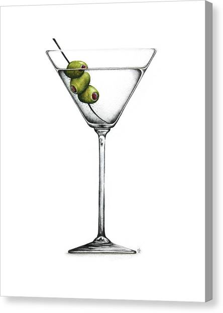 Martini Canvas Print - Martini by Christina Meeusen