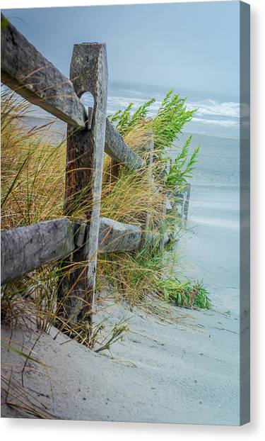 Marvel Of An Ordinary Fence Canvas Print