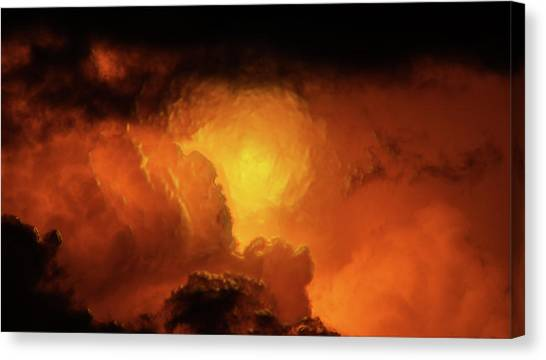 Marvelous Clouds Canvas Print