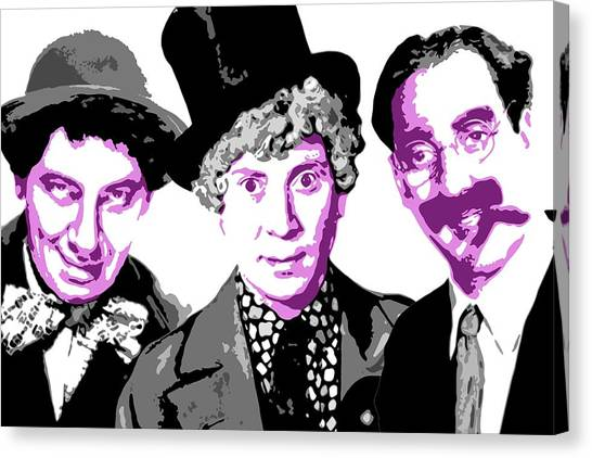 Chico Canvas Print - Marx Brothers by DB Artist
