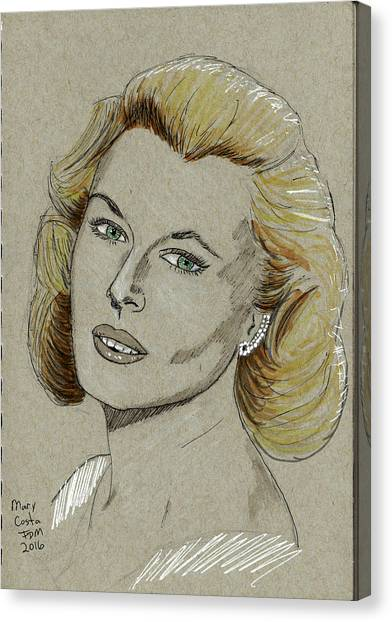 Mary Costa Canvas Print