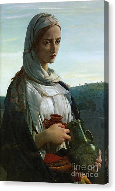 St Mary Canvas Print - Mary Madgalen by JR Herbert