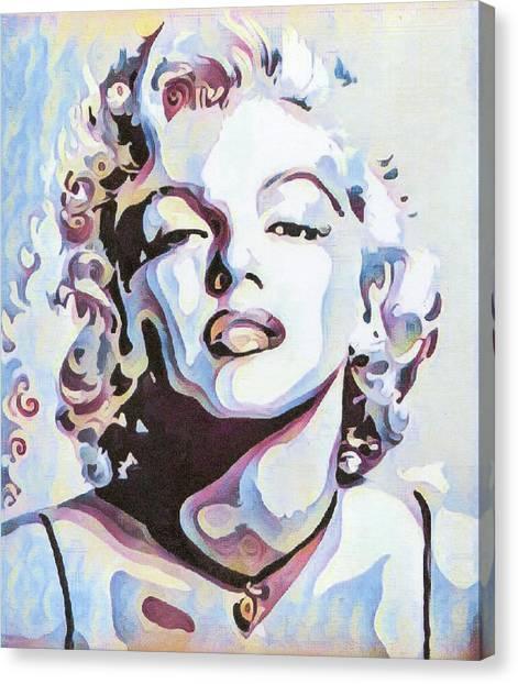 Canvas Print - Marylin Monroe by Bitten Kari