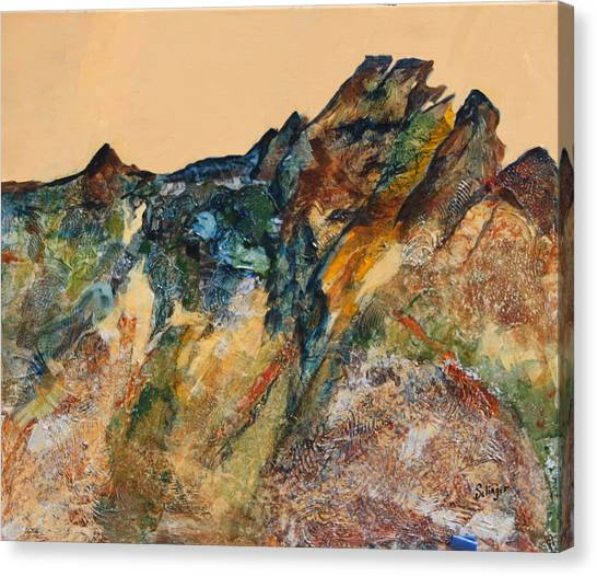 Mary's Mountain Canvas Print