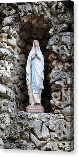 Marys Prayer Canvas Print