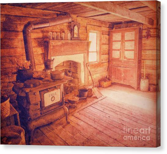 Ma's Kitchen Canvas Print