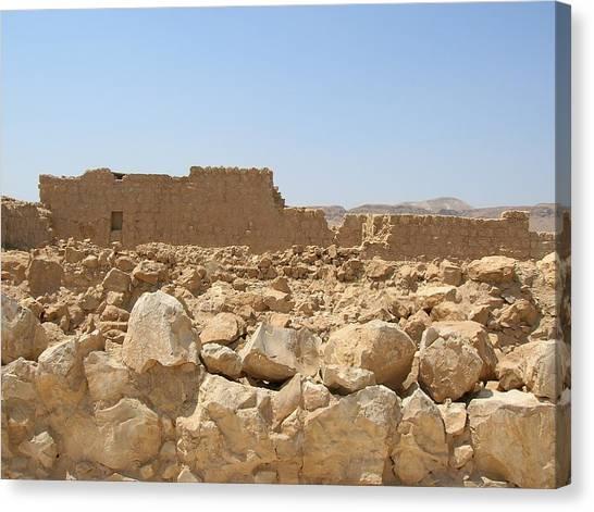 Masada II Canvas Print by Susan Heller