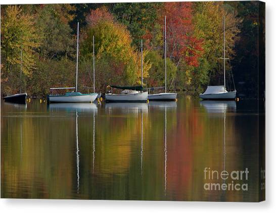 Mascoma Reflection Canvas Print