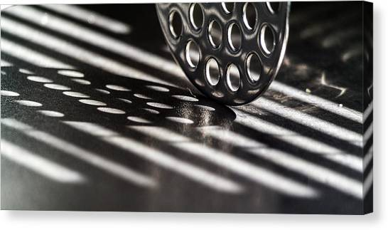 Masher Shadows Canvas Print