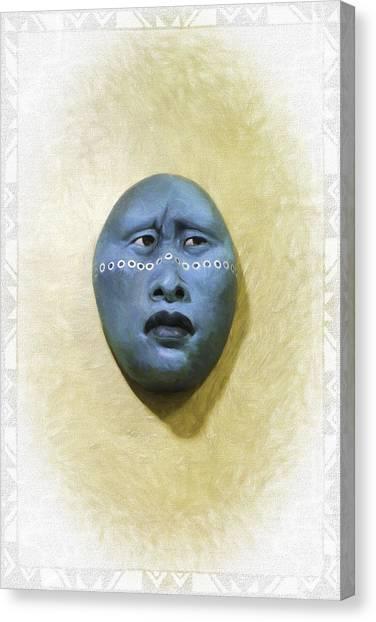 Mask 1 Canvas Print