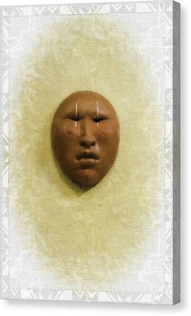 Mask 4 Canvas Print