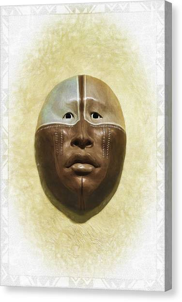 Mask 6 Canvas Print