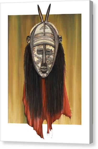 Mask I Untitled Canvas Print