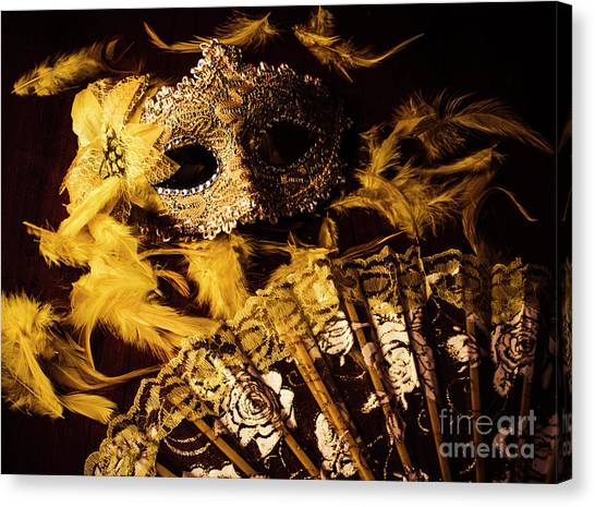 Masquerade Canvas Print - Mask Of Theatre by Jorgo Photography - Wall Art Gallery