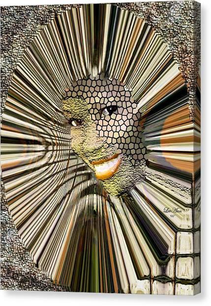 Masquerade Canvas Print by LeeAnn Alexander