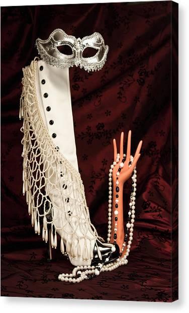 Masquerade Canvas Print - Masquerade by Tom Mc Nemar