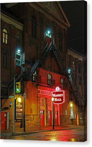 Massey Hall  Canvas Print