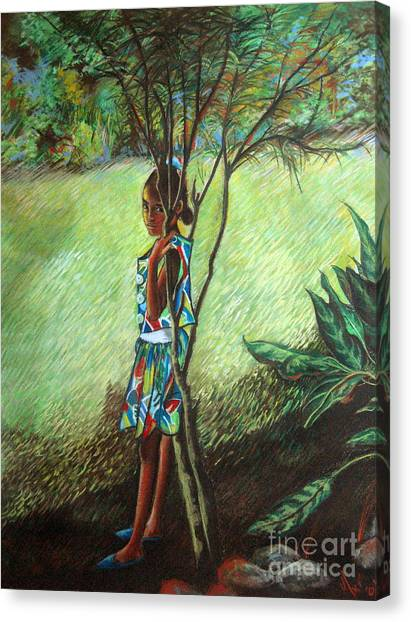Massiel Canvas Print