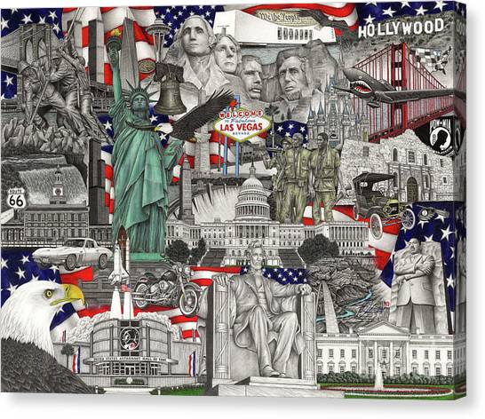 Masterpiece America Canvas Print