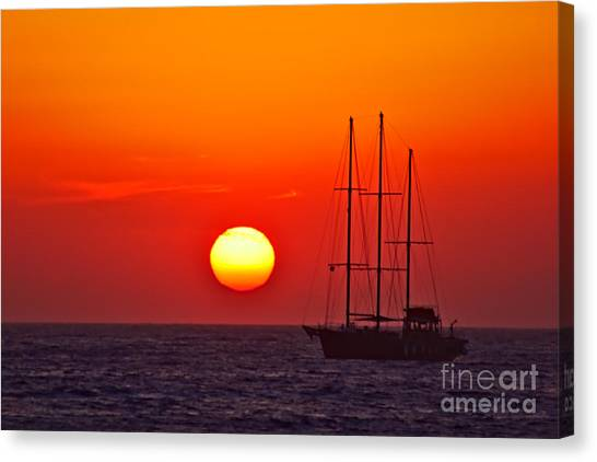 Photograph - Masts In The Sunset by Jeremy Hayden