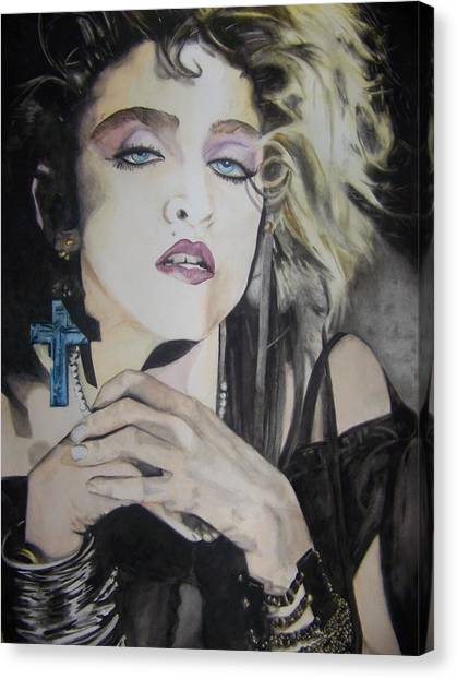 Material Girl Canvas Print