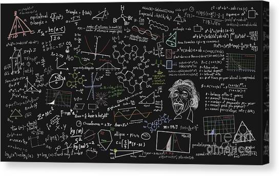 Maths Formula Canvas Print
