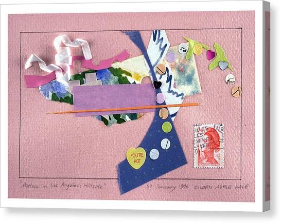 Matisse In Los Angeles Canvas Print by Eileen Hale