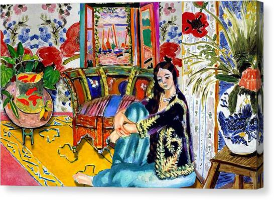Canvas Print - Matisse's Open Room by Laura Botsford