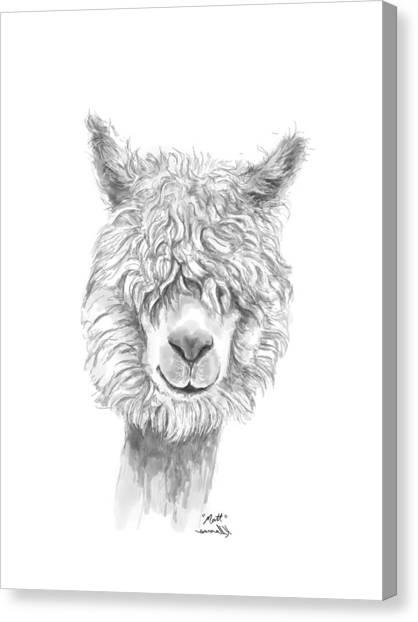 Canvas Print - Matt by K Llamas