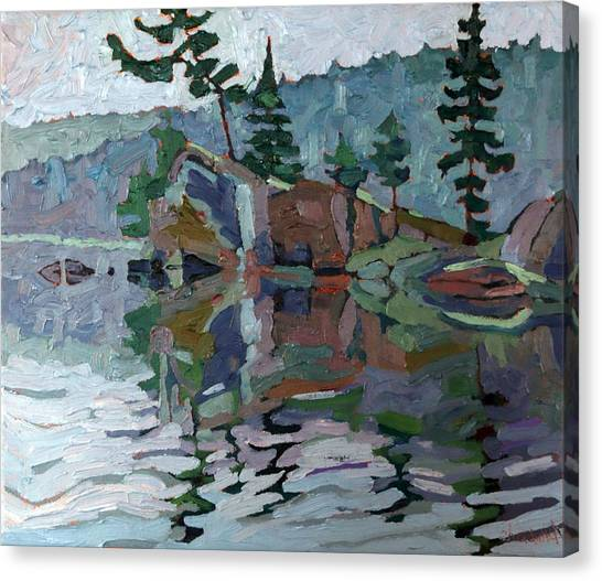 Mattawa Pines Canvas Print