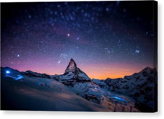 Matterhorn Canvas Print - Matterhorn by Jackie Russo