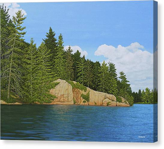 Matthew's Paddle Canvas Print