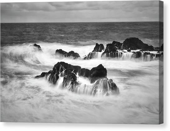 Maui In Turmoil Canvas Print