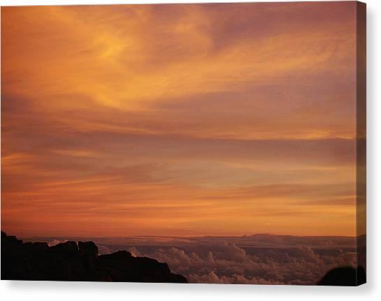 Maui Sunrise Canvas Print