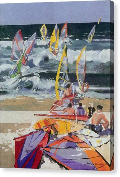 Maui Surf 2 Canvas Print