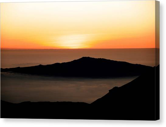 Mauna Kea Sunset Canvas Print