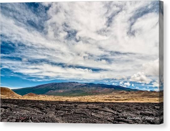 Mauna Loa Canvas Print - Mauna Loa by Christopher Holmes