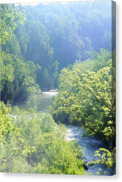 Maury River Canvas Print by Eddie Armstrong