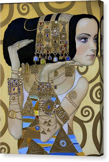 Mavlo - Klimt A Canvas Print