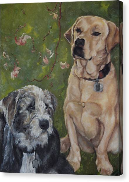 Max And Molly Canvas Print