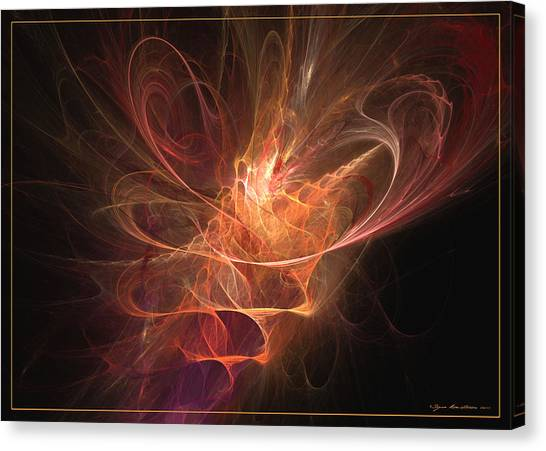 Maximum Power Of Love Canvas Print