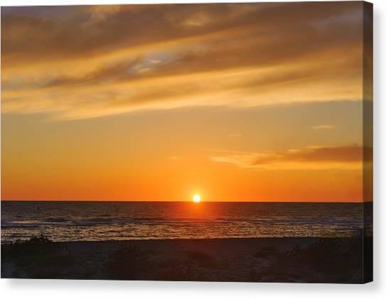 Southwest Florida Sunset Canvas Print - Maxine Barritt Park Sunset  -  Maxbar560 by Frank J Benz
