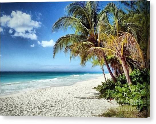 Maxwell Beach Barbados Canvas Print