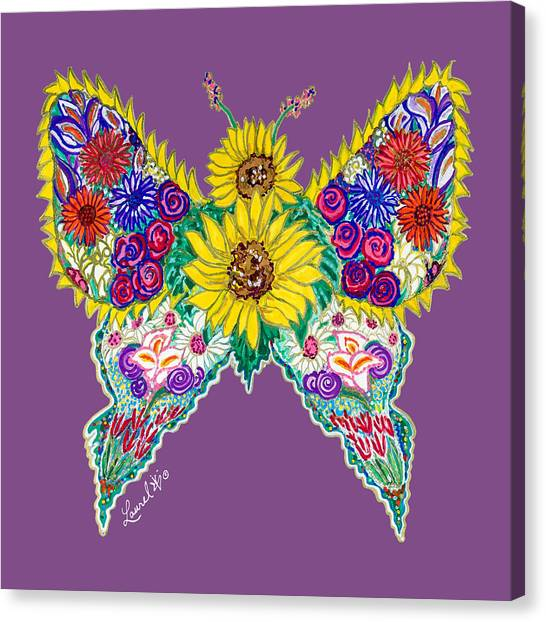 May Butterfly Canvas Print